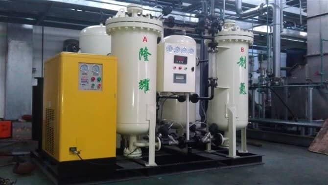 陕西某生物公司PSA制氮机