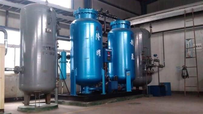 西安某化工公司用制氮机